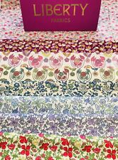 """Liberty Tana Lawn 'The Fab Four' Scrap Pack 8 Pieces Size 6''X 9"""".🌺🌸💝"""