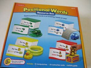Learning Resources Positional Words Resource Box Complete Educational Toy