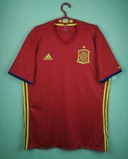 Spain team jersey shirt 2015/2016 Home official adidas soccer football size L