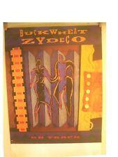 Buckwheat Zydeco Affiche sur Piste Buck Blé