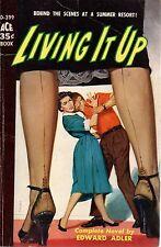 Living It Up by Edward Adler  (paperback)