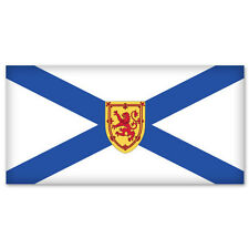 "NOVA SCOTIA Canada Flag bumper sticker decal 5"" x 3"""