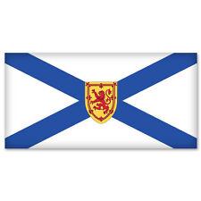 "NOVA SCOTIA Canada Flag bumper sticker decal 5"" x 3"""