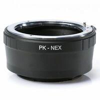 Pentax PK Lens to Sony E-Mount A7R A7 A6300 A6000 NEX-3 5 7 Adapter Ring PK-NEX