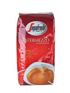 Segafredo Intermezzo 1000g ganze Bohnen Bohne Espresso Kaffee kräftig aromatisch
