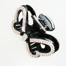 Hair Accessory - Butterfly Rhinestone Hair Jaw Claw Clips (STS023)