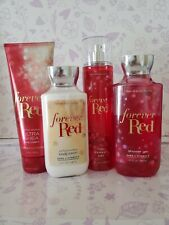 Bath & Body Works GIFT Set FOREVER RED ~ 4 pc LOT w FREE Shipping