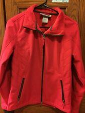 Woman's rainproof pink Jacket Size Medium
