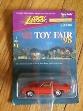 JOHNNY LIGHTNING...HONG KONG TOY FAIR 1998...RED 69 GTO. 1 OF 1000