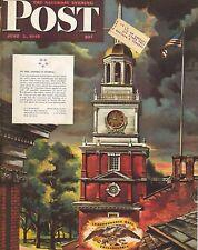 The Saturday Evening Post June 2 1945 Allen Saalburg Vintage Birthday Gift