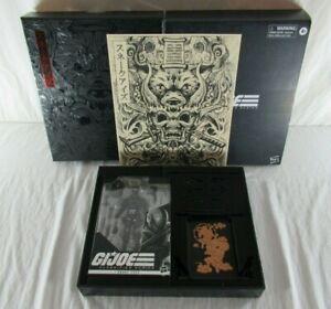 GI Joe Classified Series Snake Eyes #00 Deluxe Box Set Hasbro Pulse 2020 MIB