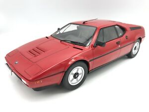 BMW M1 Street  (E26) 1978 - rot - 1:12 KK-Scale   >>NEW<<