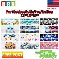 Fashion Design Keyboard Cover Silicone Skin Protector for MacBook Air Pro13 15