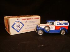 1995 Liberty Classics - Crown Petroleum Model A Tanker Locking Coin Bank