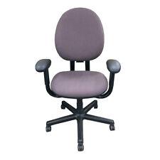 Steelcase Criterion High Back Chair Pneumatic Splash Tweed