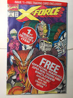 X-Force #1 With two trading card in bag, Never open, NM+ 9.8, CANADA PRINT!