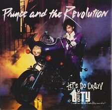 "Prince And The Revolution-Let's Go Crazy 7"" single 1984 Warner Australia 7-29216"