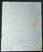 "RARE! ""Treasury Secretary"" Oliver Spalding Hand Written Letter Todd Mueller COA"