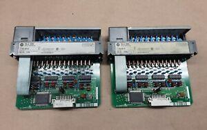 Lot of 2 ALLEN BRADLEY SLC500 INPUT MODULE 1746-IB16 SER. C #21G57RM