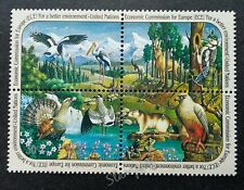 United Nation Economic Commission For Europe 1991 Woodpecker Frog (stamp) MNH