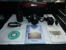 Panasonic LUMIX DMC-G1 12.1MP  Camera - Black Body + 14-42mm & 45-200mm Lenses