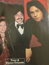 Tony Orlando, Brett Hudson, Hudson Brothers, Full Page Vintage Pinup