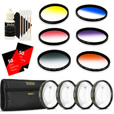 Vivitar 52mm Rotating Graduated 6pc Filter with Top Accessory Kit for 52mm Lens