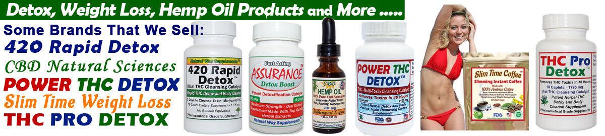 Detox,Weight Loss,Hemp Oils & More