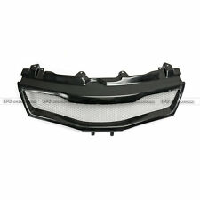 For Honda 07-11 Civic FN2 Type R FRP Front Grill Mesh Cover Glass Fiber Bodykits