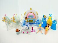 Disney Cinderella Royal Carriage Horse Coach Ride & Prince Dolls