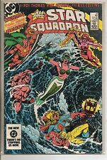 DC Comics All Star Squadron #34 June 1984 Freedom Fighters NM-