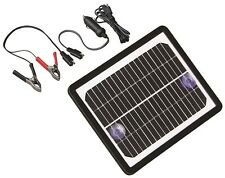 Solar 6 Watt Trickle Charger For Batteries In Boats Irrigation Pumps or Tractors