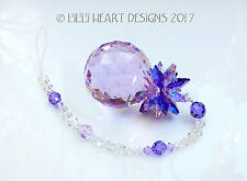 m/w Swrarovski 40mm Violet Pineapple Octagons Aurora Leaves Lilli Heart Designs