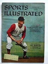 1957 CINCINNATI REDS SHORTSTOP ROY McMILLAN 9-9-57 Sports Illustrated