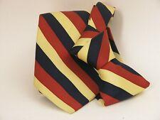 """Vintage Pure80 REGIMENTAL 100%Silk MADE IN ITALY Sartoria Napoli """"TIE"""" Classique"""