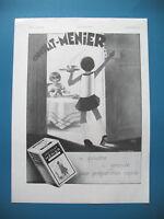Publicite de Prensa a la Menier Chocolate Ilustración Vic Francesa Ad 1931