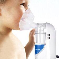 Portable Compressor Nebulizer System Kit Cool Mist Inhaler For Kids And Adults