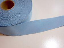 Blue Grosgrain Ribbon 1 1/2 inches wide x 10 yards, Rayon Cotton, Petersham Edge