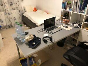 IKEA Linnmon/Adils Schreibtisch, Renberget Stuehl, und Kallax Regal