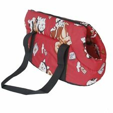 Soft Carry Shoulder travel bag Handbag for Small size dog / cat-red