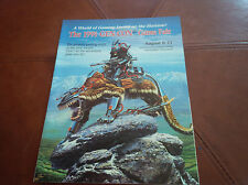 Gen Con Game Faire 1991 booklet Hard To Find