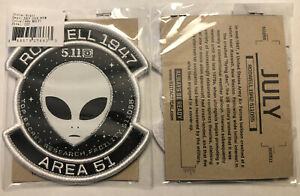5.11 Tactical Patch Of The Month 511055 Alien Roswell Area 51 POTM 5.11 Patch