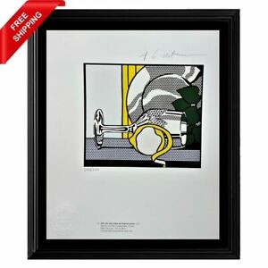 Roy Lichtenstein Original Print - Signed and Stamped by Gallery with COA