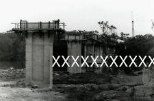 1986 EAST HILLS BRIDGE CONSTRUCTION Photo Train NSWGR  POSTAGE DISCOUNT