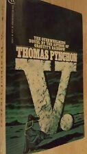 V. by Thomas Pynchon. 1st Edition Vintage Bantam. 1984 Printing. Excellent!