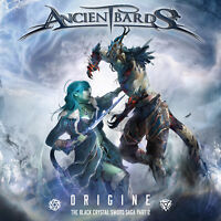 ANCIENT BARDS - Origine (The Black Crystal Sword Saga Part 2) CD 2019 Symphonic