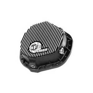 """aFe Pro Series Black Aluminum Rear Differential Cover AAM 14-11.5"""" Axle"""