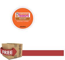 Keurig k-cups Dunkin Donuts HAZELNUT COFFEE 24 Count