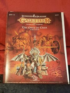 Dungeons & Dragons TSR The Orcs of Thar 1988 Bruce Heard GAZ10 - Mint