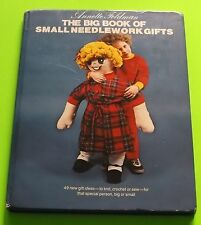 Small Needlework Sewing Crafts Big Book Crocheting